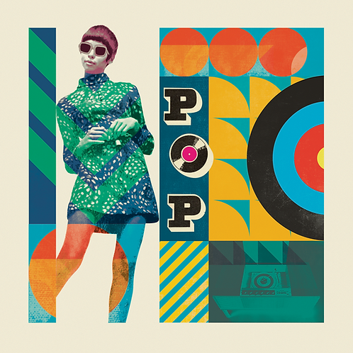 POP - Ltd Edition (50) Print 60 x 60cm