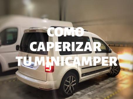 COMO CAMPERIZAR MINICAMPER, LOS MEJORES TIPS CAMPERIZADO