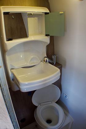 baño quimico camper