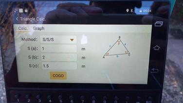 Háromszög számítás