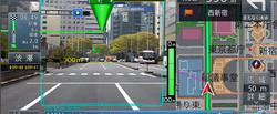 Kamerakép és navigáció