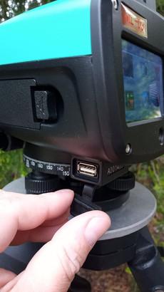 USB konnektor