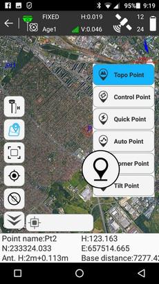 SurvX pontféleségek és Google Térkép