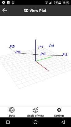 SurvX CAD-nézet 3D