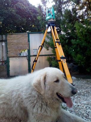 Ruide RiS Pro a Földmérő Kutya felügyeletével