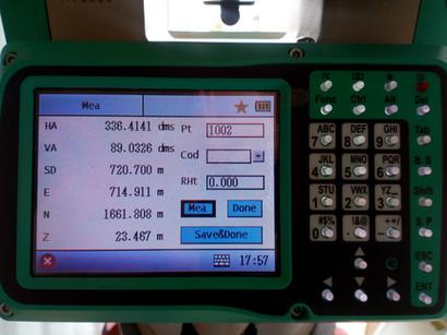 720 méternyi PN távmérés