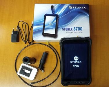 Stonex S70G műszercsomag