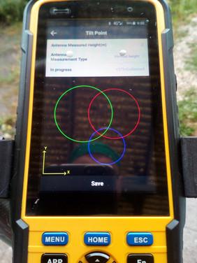 SurvX: mérés dőlésérzékelővel