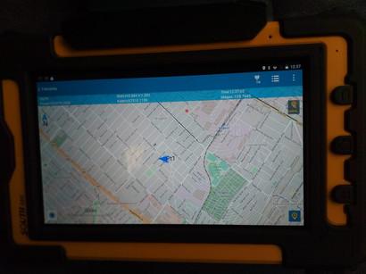 GIStar on-line térképi felület