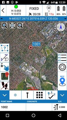 CUBE-A Google Térkép háttér