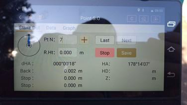 Kitűzési képernyő