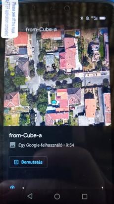 Google Earth megtekintés terepen