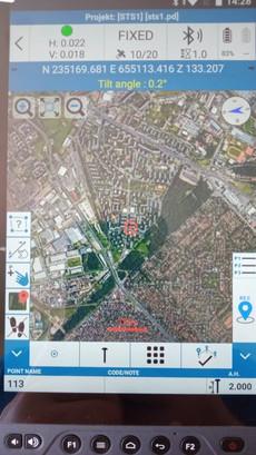 On-lány térkép, ha van netkapcsolata a vezérlőnek
