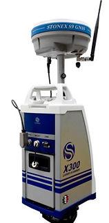 Stonex X300 3D-szkenner