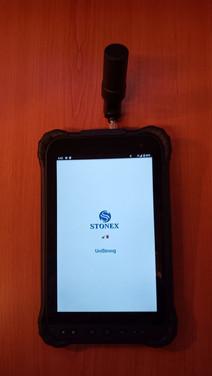 Stonex S70G RTK tablet