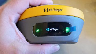 Tenyérnyi GNSS vevő