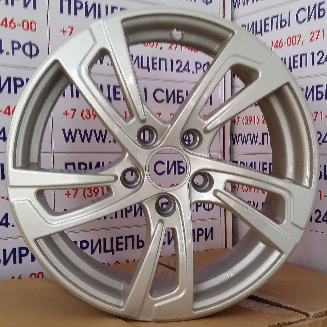 Литые диски КиК,R16, K-77 Сицилия
