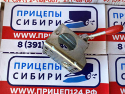 Хомут опорного колеса ДУ-60. нагрузка 500кг. AL-KO