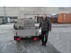 Легковой прицеп Аляска Дачник