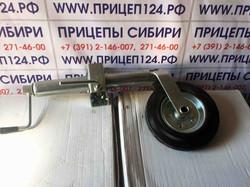 Опорное колесо в комплекте с хомутом
