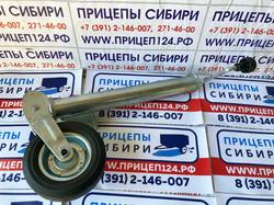 Колесо опорное с ШАРНИРОМ. d=60. 300кг