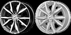 Литые диски КиК, R15, K-57 Командор