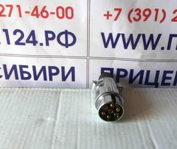 Вилка электропроводки для прицепа.(д