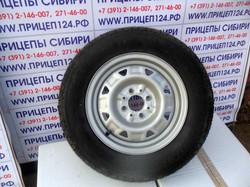 Запасное колесо для легкового прицеп