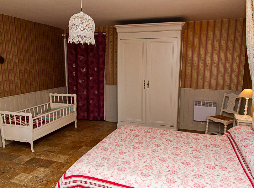 Chambre Romantique, avec salle d'eau, rdc