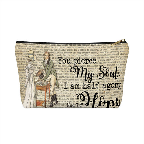 Pierce My Soul Accessory Pouch with T-bottom - Small and Large Sizes