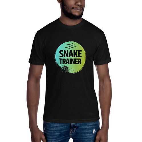 Snake Trainer Green Logo Unisex Crew Neck Tee