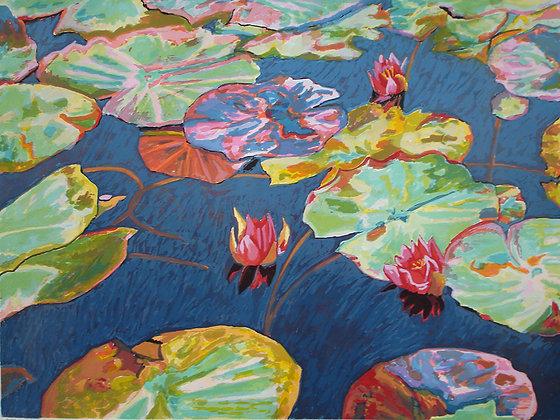 Vermillion Lilies