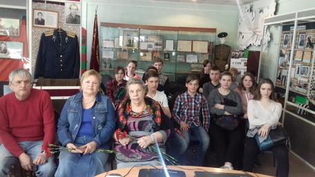 Урок Мужества в Красноярской школе
