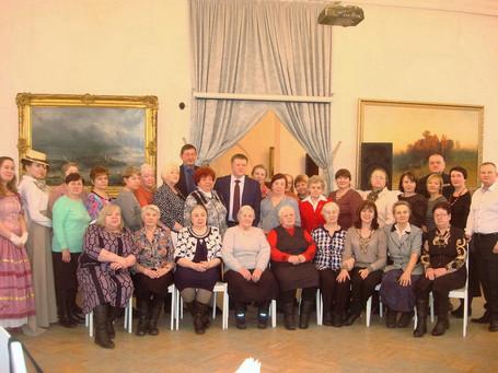 Встреча мэра города Череповца с матерями погибших защитников Отечества