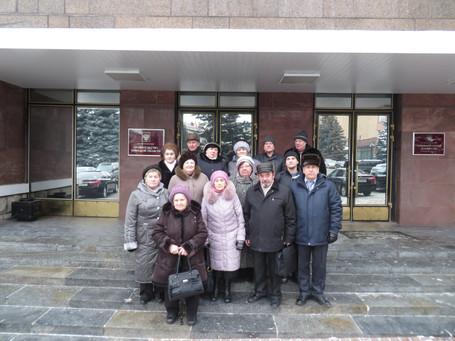 Встреча семей погибших военнослужащих Брянской области