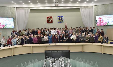 Встреча Губернатора Брянской области Александра Богомаза с матерями и вдовами
