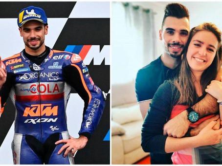 El piloto Miguel Oliveira se casa con su hermanastra tras 11 años de romance secreto