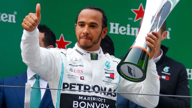 Lewis Hamilton gana su 6to Gran Premio de China