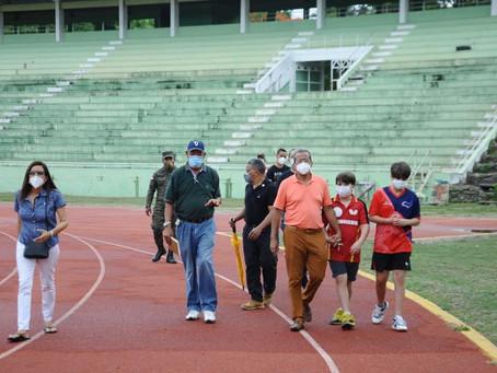 Vila inspecciona instalaciones de La Barranquita