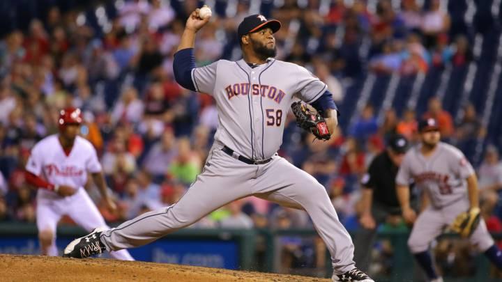 Francis Martes, lanzador de los Houston Astros, fue suspendido durante toda la campaña de 2020
