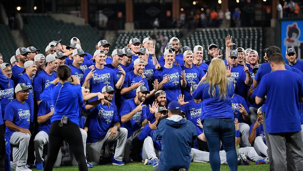 Dodgers conquistan su 7mo título divisional al hilo