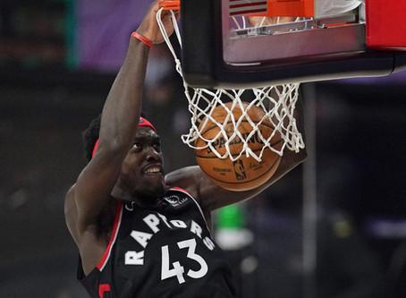 Toronto Raptors aprovecha baja ofensiva de Boston y se lleva la victoria 100-93 para empatar serie.