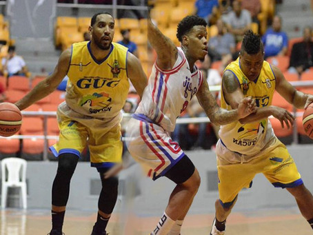 Dúo Guerrero-Sabater del GUG:Principales líderes ofensivos torneo basket Santiago