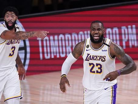 Los Lakers de LeBron apabullan a los Rockets para volver a unas finales de conferencia