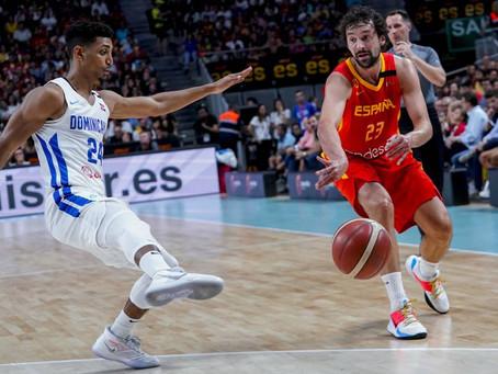 Selección Baloncesto española derrota a la de República Dominicana 102 por 70.