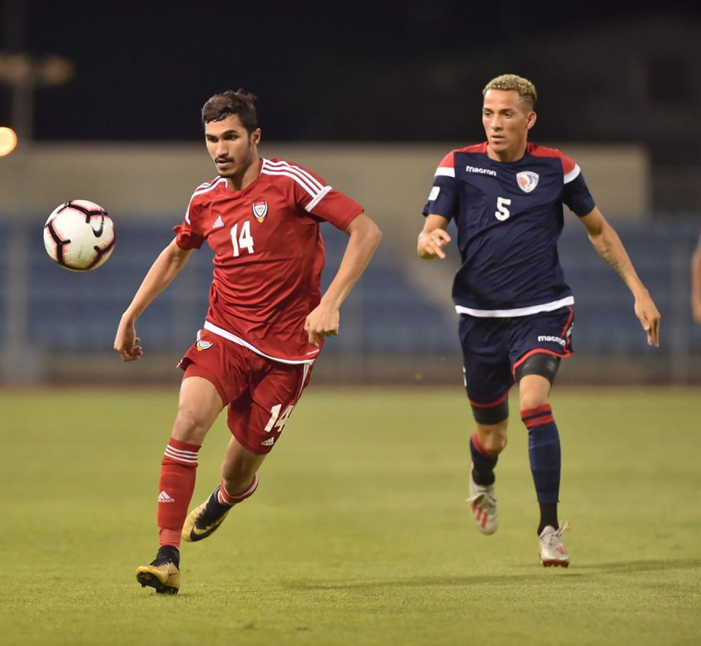 La selección dominicana de fútbol cayó este viernes por 4-0 ante su similar de Emiratos Árabes Unidos,
