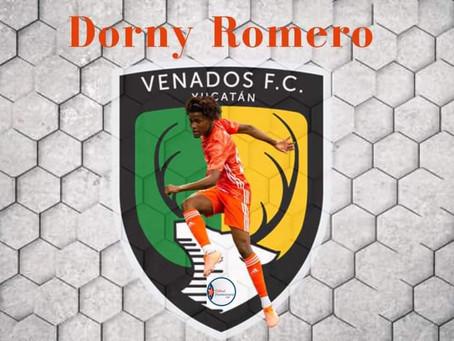 Dorny Romero ficha por el club Venados de Yucatán