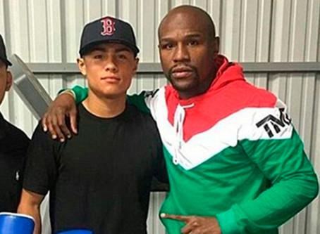 Asesinan a tiros al boxeador de 22 años Danny González, uno de los pupilos de oro de Mayweather.