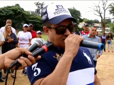 Inauguran primer Clasico de Softball en Gurabo dedicado a Miguel Gutierrez candidato a diputado PRM