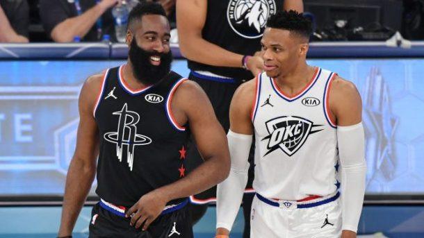 Harden y Westbrook se vuelven a reunir